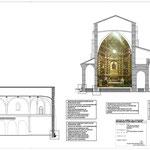 Iglesia Parroquial Villarroya de la Sierra (Zaragoza) Sección reformada