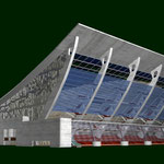 2005. Concurso Campo de Fútbol La Romareda. Zaragoza
