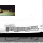 Proyecto Fin de Carrera Arquitectura. Alzado 2