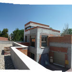 Vivienda unifamiliar Villafranca. Vista desde las cubiertas