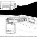Proyecto Fin de Carrera Arquitectura. Planta segunda y sección