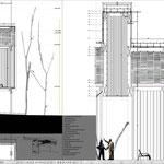 Proyecto Fin de Carrera Arquitectura. Sección constructiva 1b