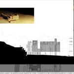 Proyecto Fin de Carrera Arquitectura. Alzado 1