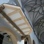 Iglesia Parroquial Villanueva de Huerva. Interior vuelo