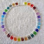 Bogenkette weiß-Regenbogen 30 Euro