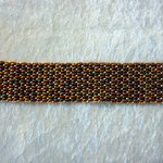 Twinbeadsarmband Herbstfarben                                                  40 Euro