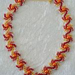 Hogarths crystal Curve rot-orange-gelb                        verkauft