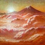 紅の雲海 W27.2×H24.2