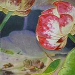 秋の雨蛙 W23 x H16