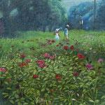 秘密の花園・5月(港の見える丘公園・横浜市中区)W22.0×H27.3