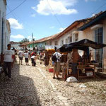 """La Candonga"" Kunstmarkt von Trinidad, Kuba"