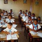 Schulklasse in Trinidad, Kuba
