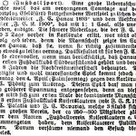 """""""Pfälzer Anzeiger"""" (PAZ) vom 26.03.1909"""