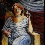 Christine, 2015, Öl auf Leinwand, 80x60cm