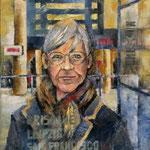 Zwischen den Welten, 2014, Öl auf Leinwand, 70x60cm