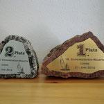 23. Pokalschilder auf regionalem Granitstein (angeliefert)
