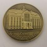 43. 3D-Gestaltung auf der Medaillen-Rückseite