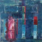 Transition III, 2011, 40 x 40 cm, acrylique sur toile