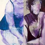 Variation I, 2008, 30 x 30 cm, acrylique sur toile | vendu