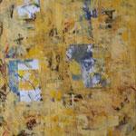 Entrée II, acrylique sur toile, 85 x 60 cm, 2003