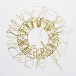 crayon et feutre sur papier, 40 x 40 cm, 2020 | fr 477