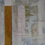 Saveur de la toile blanche 22, 18 x 18 cm, 2018