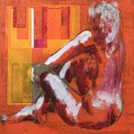 Transition IV, 2011, 50 x 50 cm, acrylique sur toile | vendu