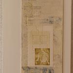 Saveur de la toile blanche 15, diptyque 100 x 40 cm, 2018