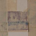 Technique mixte sur toile, 20 x 50 cm, 2014