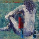 Transition II, 2011, 40 x 40 cm, acrylique sur toile