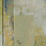 Simplicité, acrylique sur toile, 60 x 20 cm, 2006