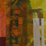 Technique mixte sur papier, 50 x 50 cm, 2014