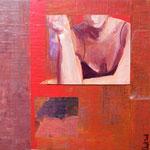 Variation III, 2008, 30 x 30 cm, acrylique sur toile | vendu