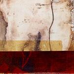 """Dialogues"" 12, 23 x 23 cm, 2018 | vendu"