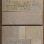 Saveur de la toile blanche, triptyque 120 x 40 cm, 2018 | fr 1'800
