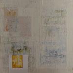 Saveur de la toile blanche 19, 60 x 60 cm, 2018