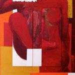 Au coeur de..., 2010, 110 x 80 cm, acrylique sur toile