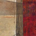 """Dialogues"" 6, 40 x 40 cm, 2018 | vendu"