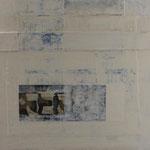 Saveur de la toile blanche 17, 50 x 50 cm, 2018 | vendu