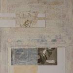 Saveur de la toile blanche 16, 50 x 40 cm, 2018 | fr 900