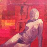 Instants de vie III, 2007, 30 x 30 cm, acrylique sur toile