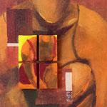Variation VI, 2008, 30 x 30 cm, acrylique sur toile