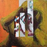 Transition V, 2011, 50 x 50 cm, acrylique sur toile