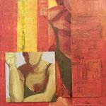 Variation V, 2008, 30 x 30 cm, acrylique sur toile | vendu