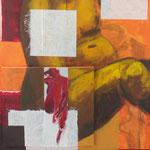 Pourquoi pas ?, 2010, 100 x 70 cm, acrylique sur toile