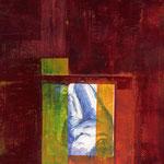 Présence, acrylique sur papier, 2010