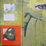 Trivalence II, 2010, 50 x 50 cm, acrylique sur toile