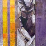 Variation II, 2008, 30 x 30 cm, acrylique sur toile | vendu
