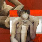 Monologues, 2009, 100 x 70 cm, acrylique sur toile