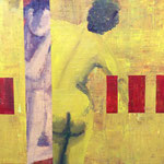 Passage, 2008, 38 x 38 cm, acrylique sur toile | vendu